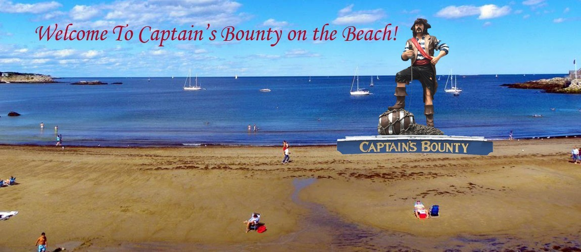 Welcome To Captains Bounty On The Beach - We Are Directly On Front Beach!
