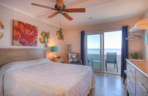 Oceanfront Queen Room 1 - First Floor - Pet Friendly