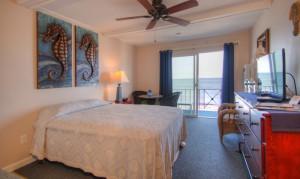 Oceanfront Queen Efficiency Room 28 - Second Floor