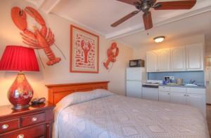 Oceanfront Queen Efficiency Room 36 - Third Floor