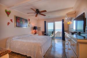 Oceanfront King Efficiency - Room 7 - First Floor - Pet Friendly