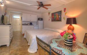 Oceanfront King Efficiency - Room 7 - First Floor - Pet Friendly